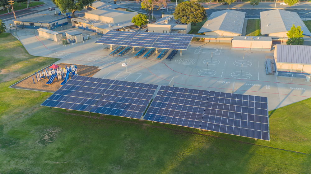 Los Angeles Aerial Image Solar Inspections