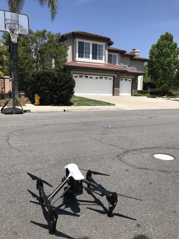 Los Angeles Aerial Image Behind the Scenes