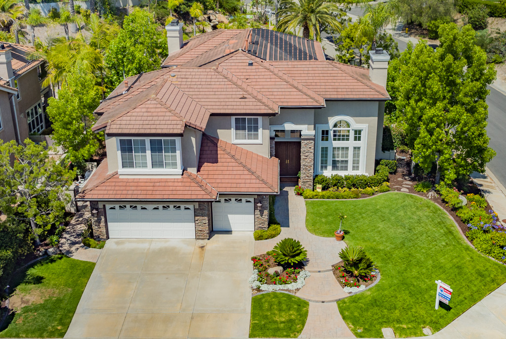 Los Angeles Aerial Image Real Estate Photography