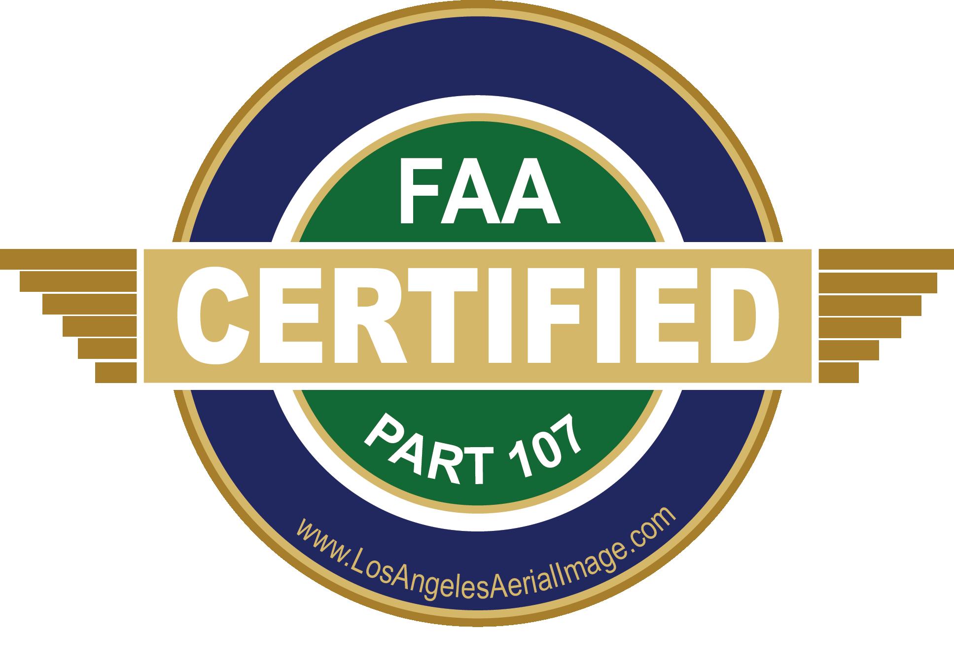 LA Aerial Image FAA Part 107 Certified